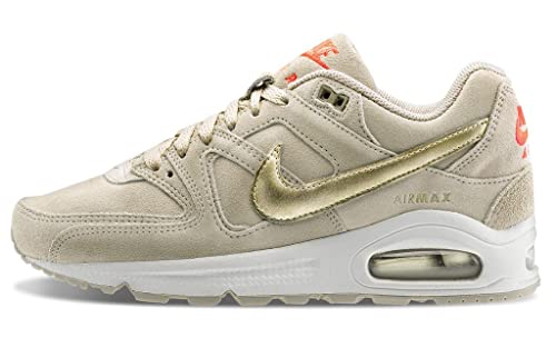 huge discount 821a4 3cb9a Nike WMNS Air Max Command PRM, Women s Sneakers, Grey (String   Mtlc Gld