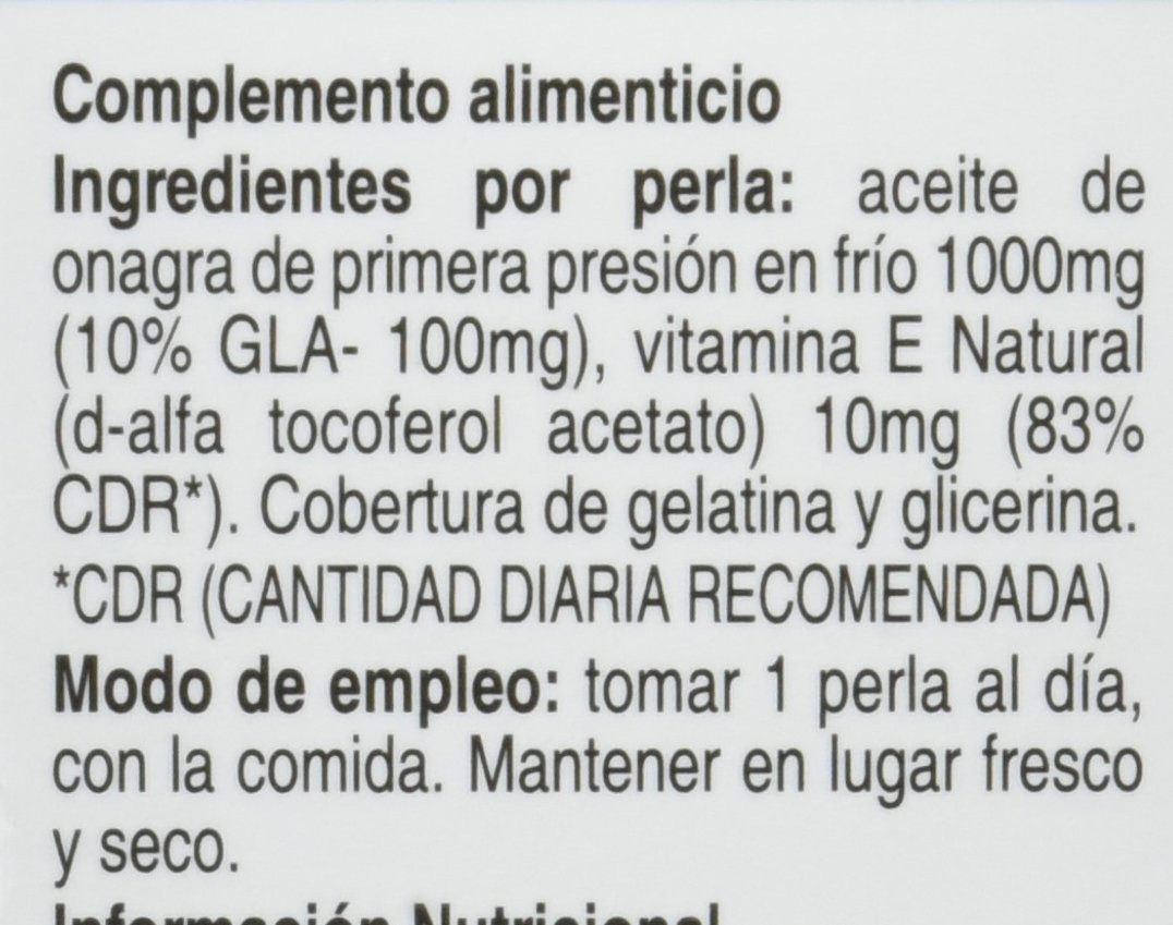 SOTYA - SOTYA Omega 6 Aceite de Onagra 30 perlas 1340 mg: Amazon.es: Salud y cuidado personal