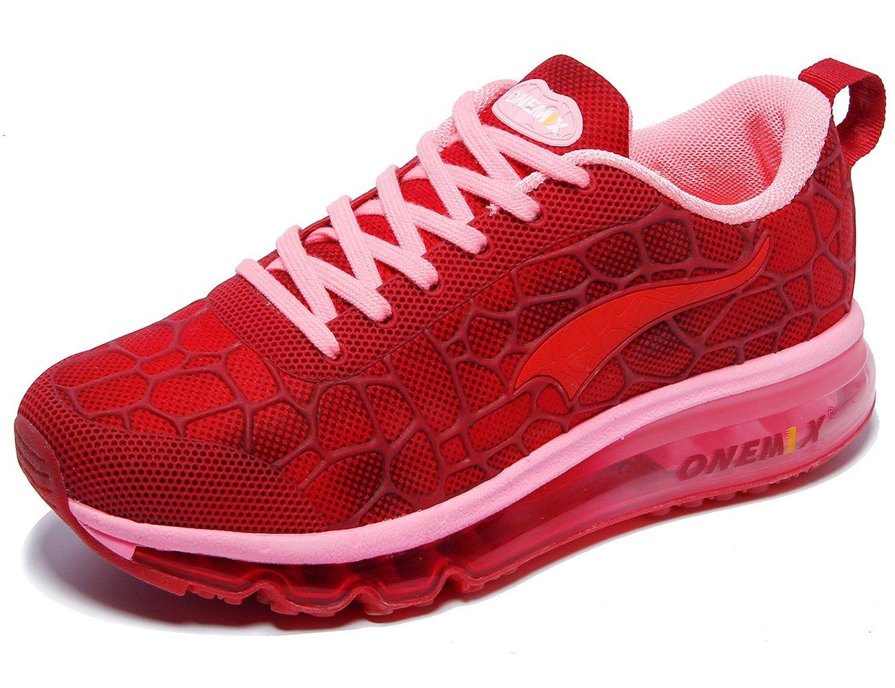 7c67668c3706f ONEMIX Women's Air Cushiong Running Shoes,Lightweight Sport Athletic ...