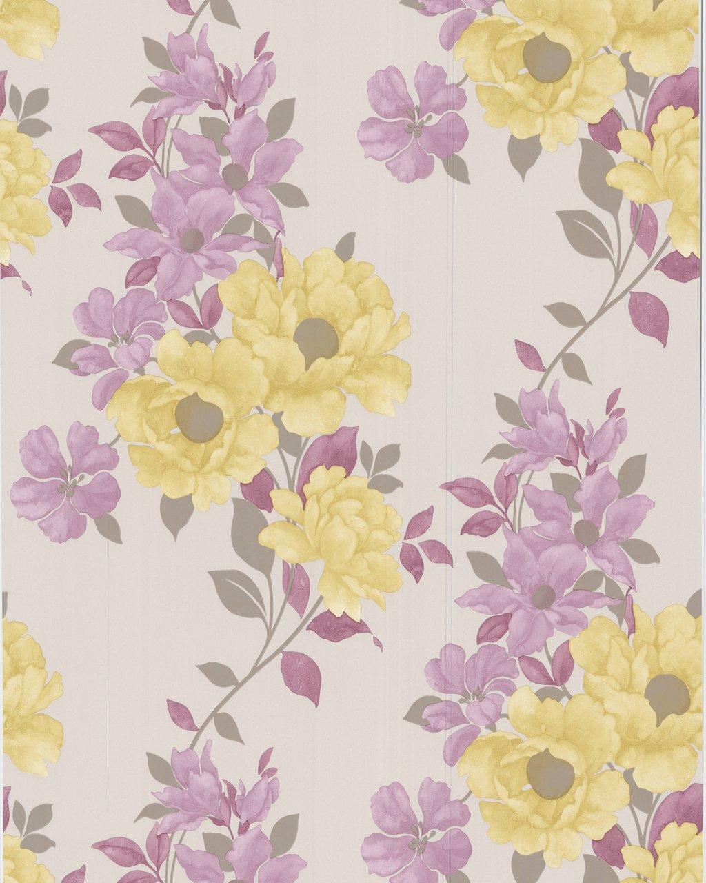Graham /& Brown 50-217 Duchessa Wallpaper Pink and Lime