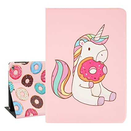 a85a6db48a15 Hepix iPad Air 2 Case for Kids Cute Unicorn and Dounts iPad Cases 9.7