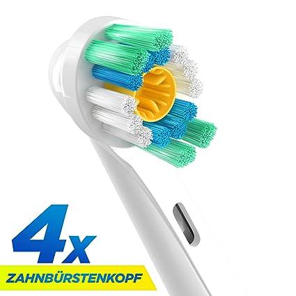 3d White cabezales para cepillos de dientes eléctrico Oral-B. Repuestos para EB18.