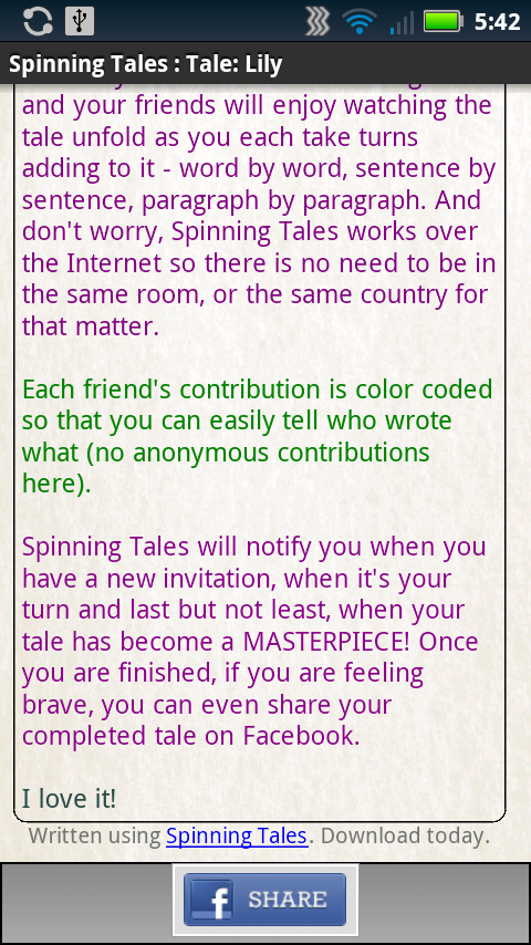Spinning Tales: Amazon.es: Appstore para Android