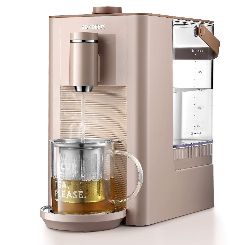 Buydeem S7133 Hot Water Boiler and Warmer, Fresh, Instant, Adjustable Temperatures, Best for Infant Formula, 2.6L, Pink by BUYDEEM