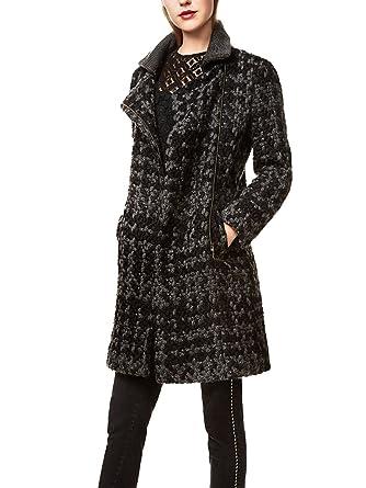 Desigual - Abrigo - para mujer negro 42