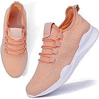 BUBUDENG Dames Trainers Casual Sneakers Wandelen Gym Sport Loopschoenen Lichtgewicht Tennisschoenen
