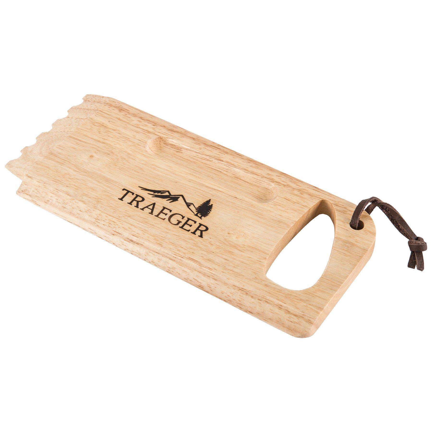 Traeger BAC454 Wooden Scape Grill Scraper, Wood