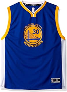 30e65c995 Golden State Warriors Youth Stephen Curry Road Replica Jersey (large-14-16)