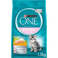 Purina ONE Kitten with Chicken Dry Cat Food 1.5Kg