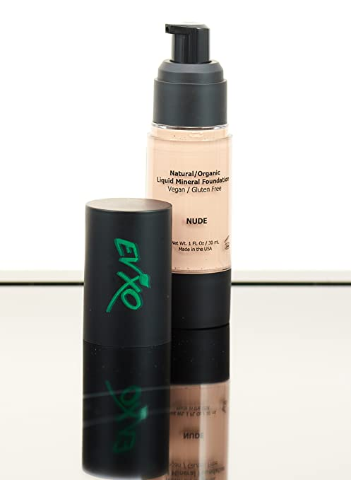 Treat Blemishes with Natural Coverage Liquid Mineral Foundation Makeup