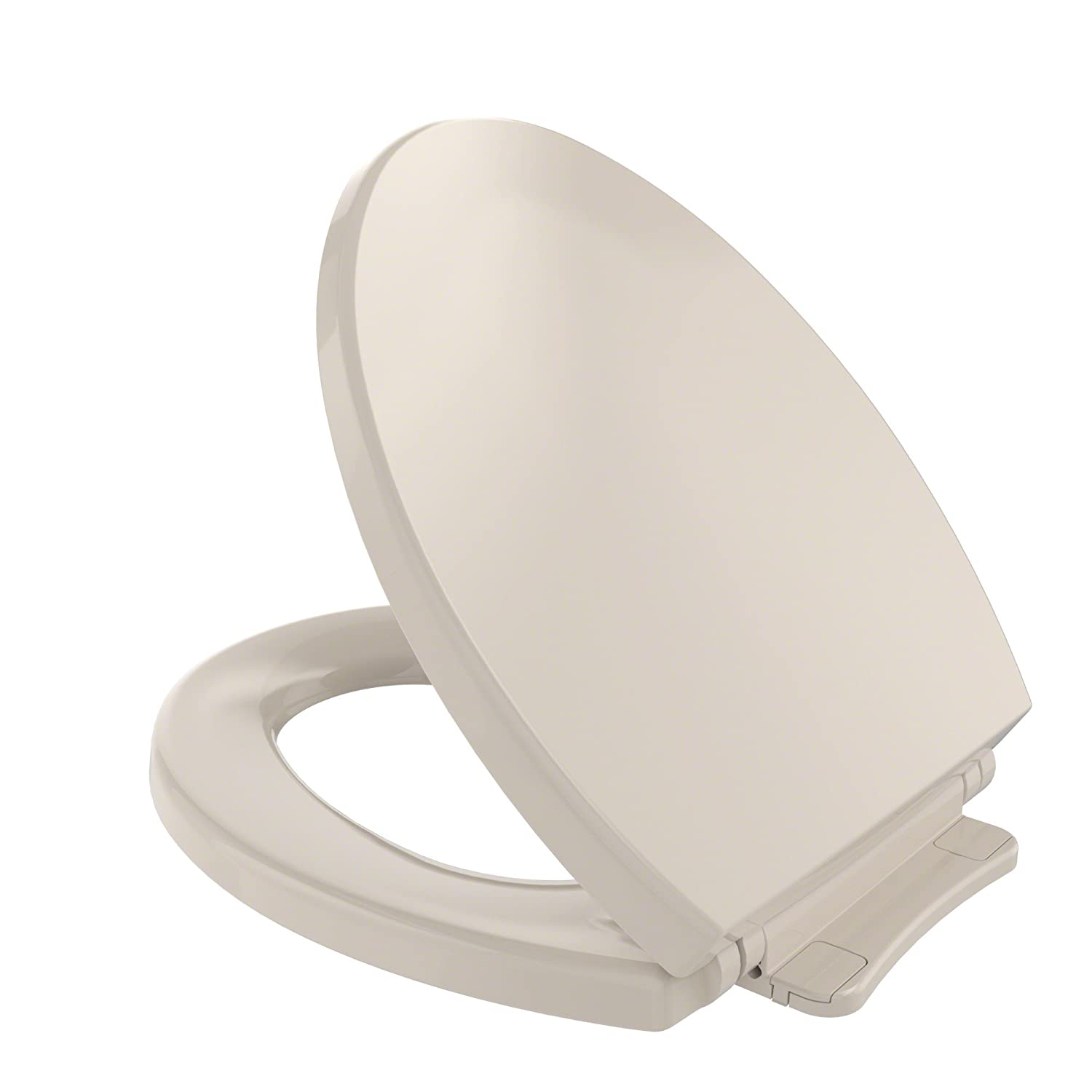 Toto SS114 01 SoftClose Elongated Toilet Seat Cover, Cotton White SS114#01