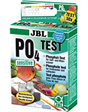 JBL PO4 Phosphat sensitiv Test- Set, Test rapide pour déterminer la teneur en phosphates dans les aquariums d'eau douce ou d'eau de mer et les bassins
