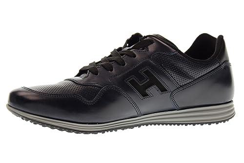 Hogan Scarpe Uomo Sneakers Basse HXM2050X59389Z4352 H205 Olympia Taglia  11(45.5) Biro Nero  Amazon.it  Scarpe e borse 21e2477f27c