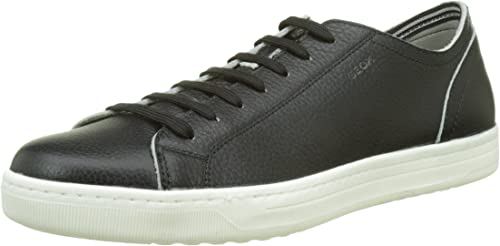 escritorio acoso Virgen  Geox Men's Uomo Ricky B Low-top: Amazon.co.uk: Shoes & Bags