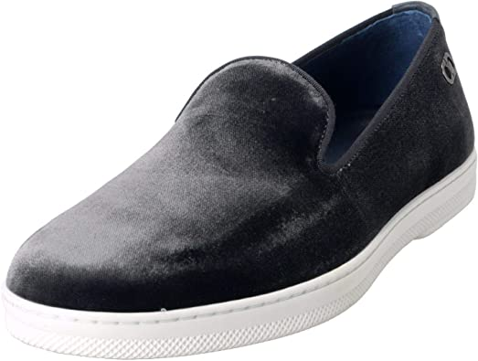 Velour Loafers Slip On Casual Shoes