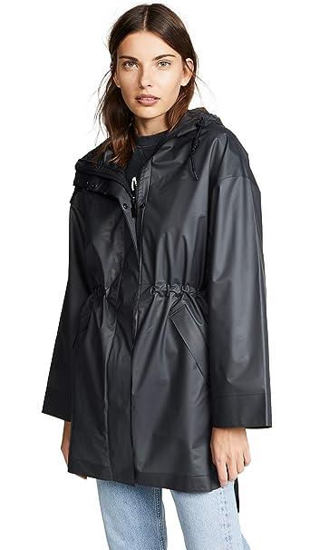 Amazon.com: Hunters Boots - Abrigo de vinilo para mujer, L ...