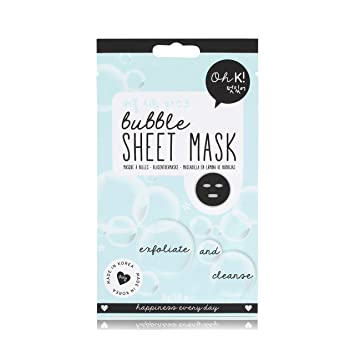 Oh K! Cleansing Face Mask Sheet Bubble Clay Extract Sheet Mask