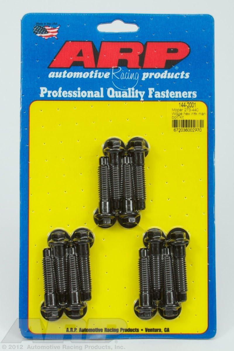 ARP 144-2001 Intake Manifold Bolt Kit Chrysler All Models Black Oxide Hex