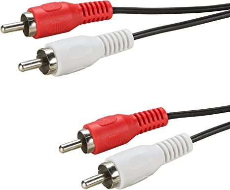 Verbindungskabel Anschlusskabel Kabel Audio Hifi Stereo Chinchkabel Cinch 5m 5 m