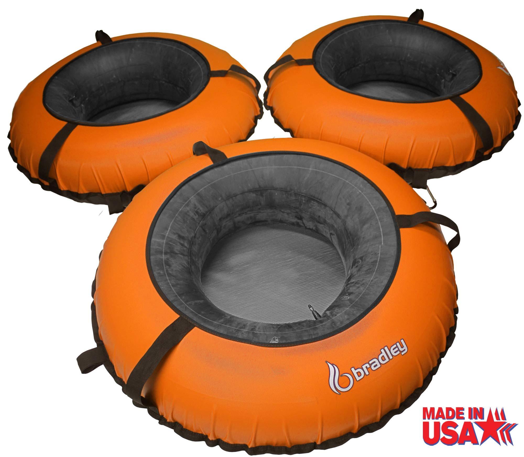 Bradley River Tubes 3 Pack | Heavy Duty Truck Tire Inner Tubes & Cover | Linking River Tubes | Connecting River Run Tube