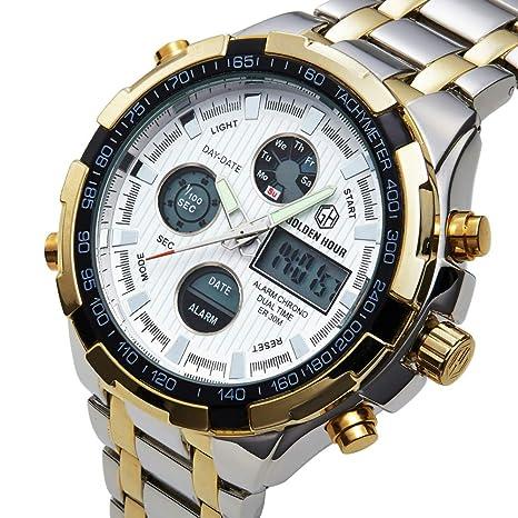 Watches Reloj De Pulsera De Cuarzo Relojes Analógicos Digitales Reloj Militar De Deporte para Hombre Reloj