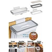 takestop Support pour sacs-poubelle avec crochet à poser sur des tiroirs ou portes de meubles, poubelle de cuisine, tri sélectif, déchets
