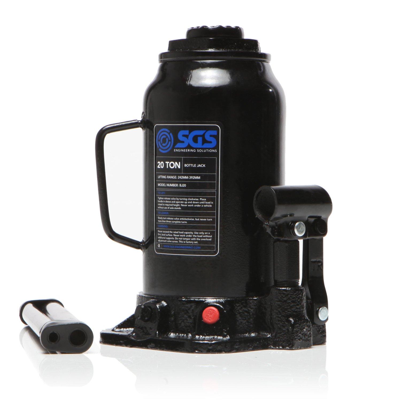 20 Ton Heavy Duty Industrial Hydraulic Bottle Jack SGS Engineering