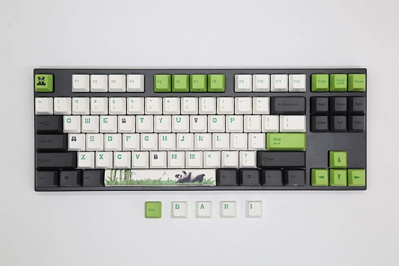 Varmilo VA87M Panda White LED TKL Mechanical Keyboard