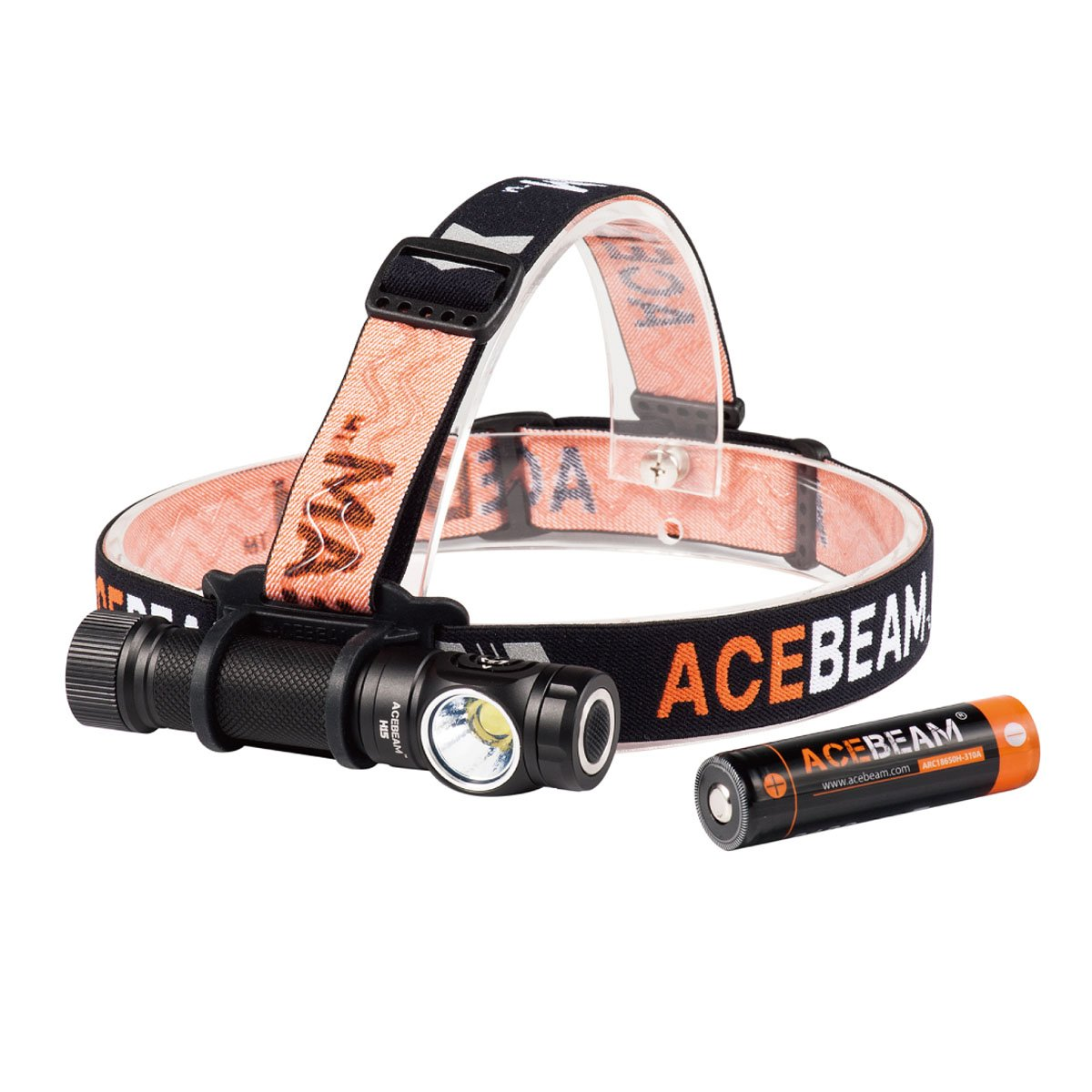 ACEBEAM H15 Head Lamp 2500 Lumens 16 Output Levels Headlight Flashlight For Medical,Reading,Runing,Working,Camping,Hunting