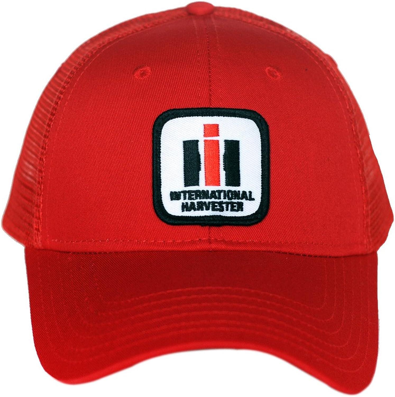 red mesh International Harvester IH Logo Hat