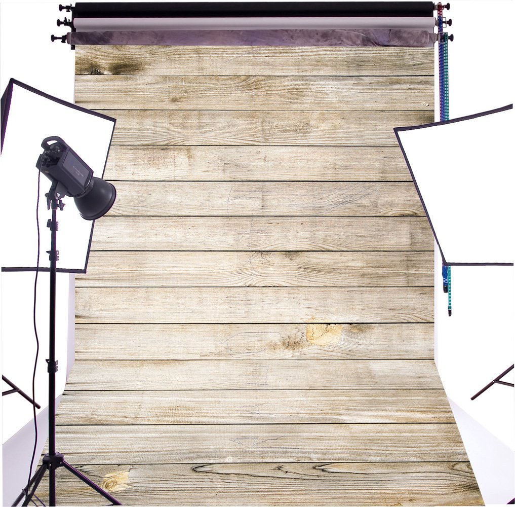 Duluda Wooden theme 5X7FT Indoor Studio Photography Background Computer-printed Poly Fabric Seamless Backdrop GMT16