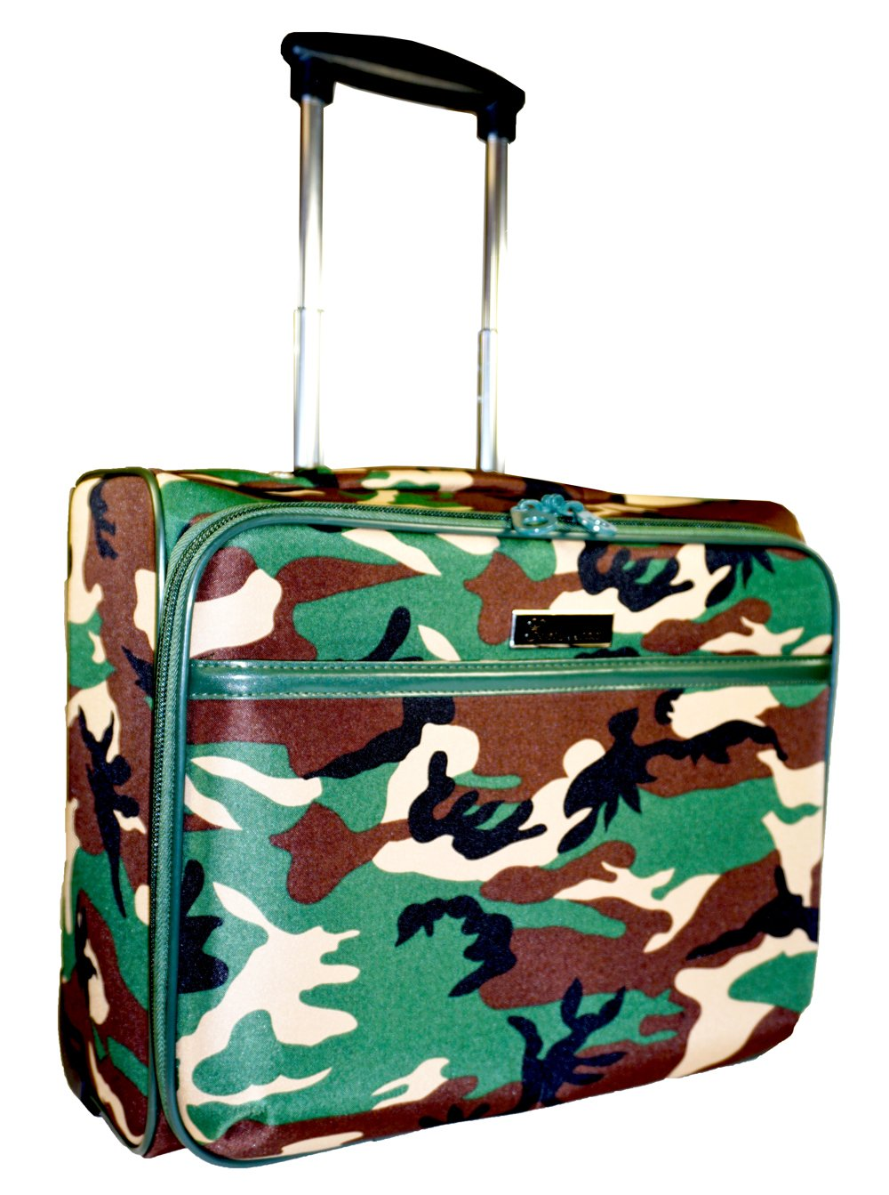 Ever Moda Camo Rolling Wheeled Laptop Case