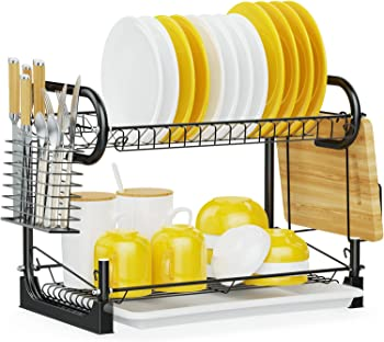 iSPECLE 2 Tier Dish Drying Rack