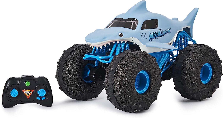 Bizak- Vehículo Megalodon Anfibio con Radio Control Monster Jam Juguete (61926687)