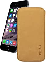 """Apple iPhone 6 / 6s (4.7"""") Genuine Leather Case *with Pull Tab* and Book-Style Original Suncase®"""