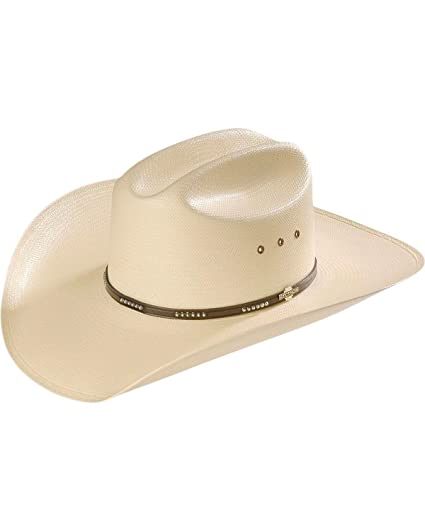 6d594c246f9 Stetson Men s Llano 10X Straw Cowboy Hat at Amazon Men s Clothing store