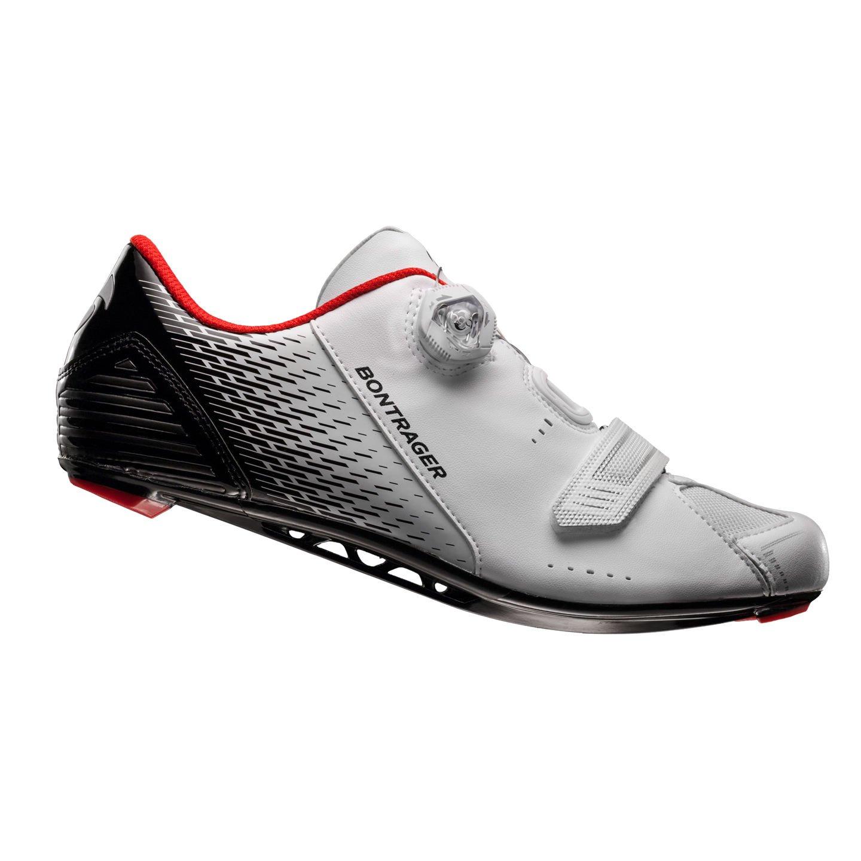 Bontrager Specter Rennrad Fahrrad Schuhe weiß schwarz 2016