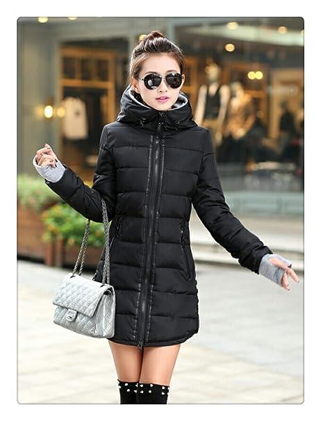 Amazon.com: DoSquTiE - Chaqueta de invierno para mujer ...