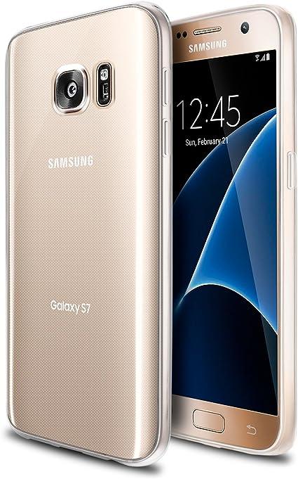 ISUDA Coque Samsung Galaxy S7 Edge, Coque Jolie élégante Silicone Transparent Soft Gel TPU pour Samsung Galaxy S7 Edge (Samsung Galaxy S7 Edge, ...