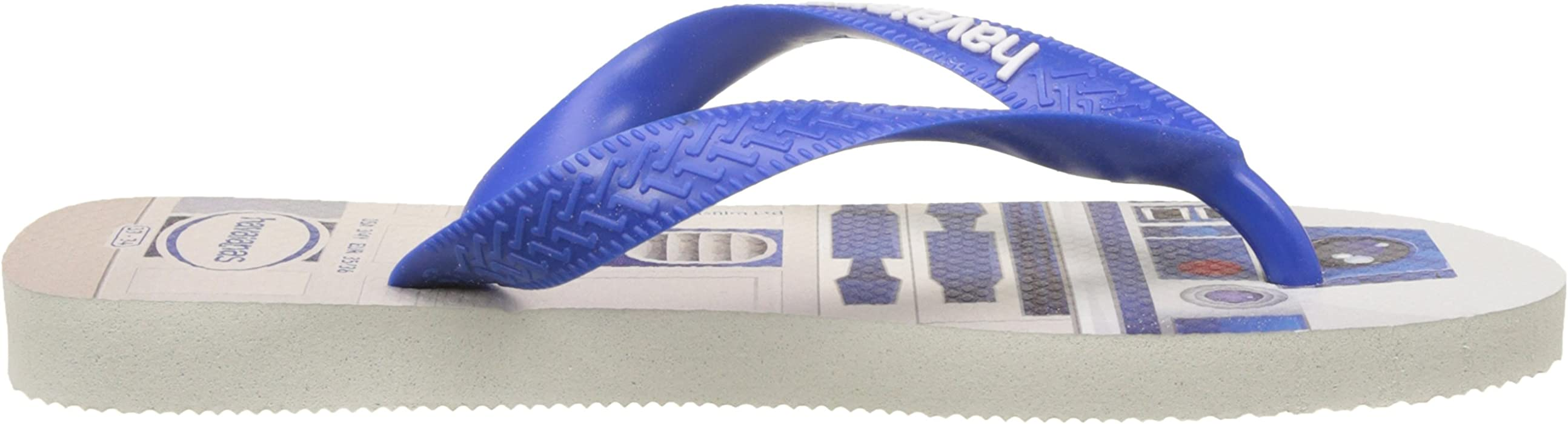 6697daec5 Havaianas Star Wars Flip Flops - White Blue UK 1213