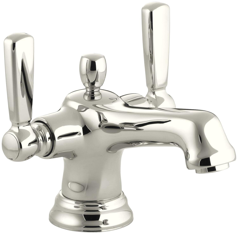 KOHLER K-10579-4-CP Bancroft Monoblock Lavatory Faucet, Polished ...