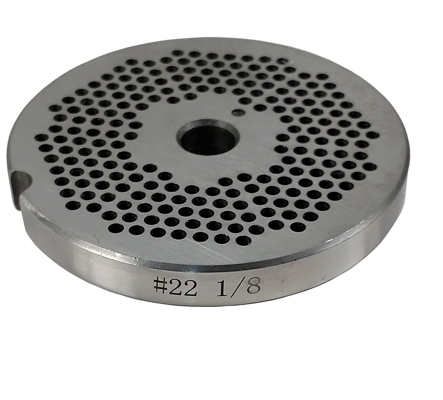 Food Service Knives #22 Meat Grinder Plate (1/8 in.)