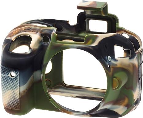 Easycover ECND3300C - Funda de Silicona para Nikon D3300, Color ...
