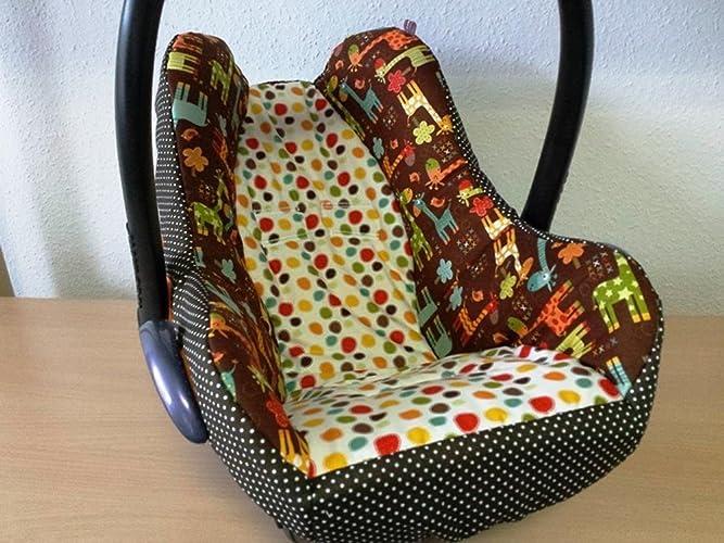 Atelier MiaMia - Kindersitz Bezug, Babysitzbezug, Babyschale Bezug ...