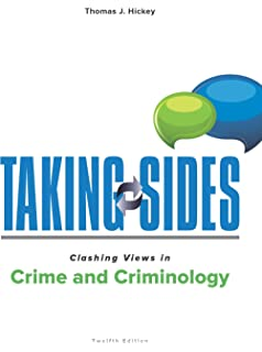 Amazon taking sides clashing views in crime and criminology taking sides clashing views in crime and criminology fandeluxe Images