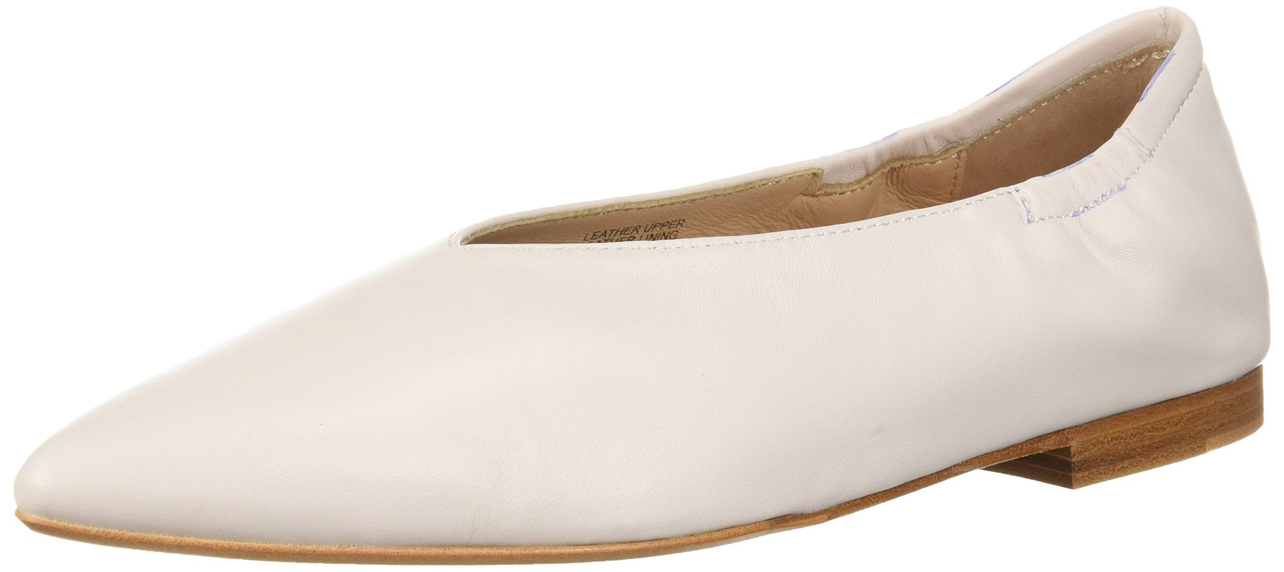Pour La Victoire Women's Colt Ballet Flat, Ivory, 9 M US