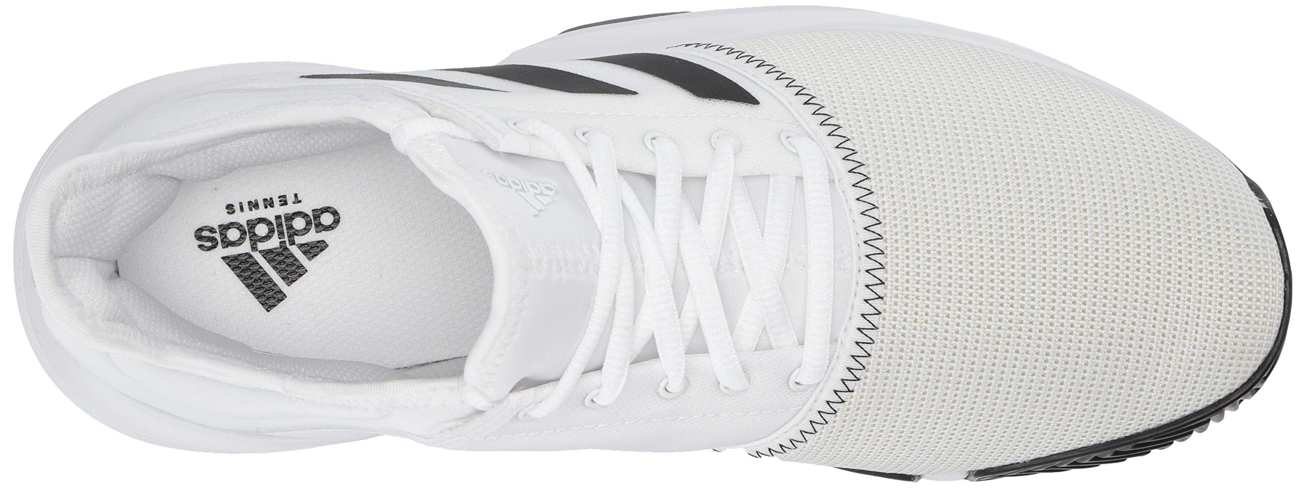 adidas Men's Gamecourt, White/Black/Grey 6.5 M US by adidas (Image #8)