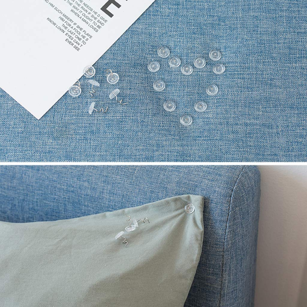 Rose Shape L 20 Pack Headliner Repair Twist Pins Kit for Home Sofa Upholstery Car Truck Auto RV