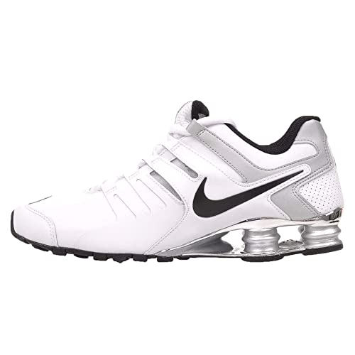 5265e4b1cf8 ... reduced nike mens shox current white black metallic silver 8fa38 3aa16  ...