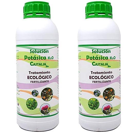 Castalia - Jabón Potásico Ecológico - Pack 2 de litros Total ...